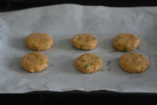 chickpea potato patties, how to make chickpea potato patties