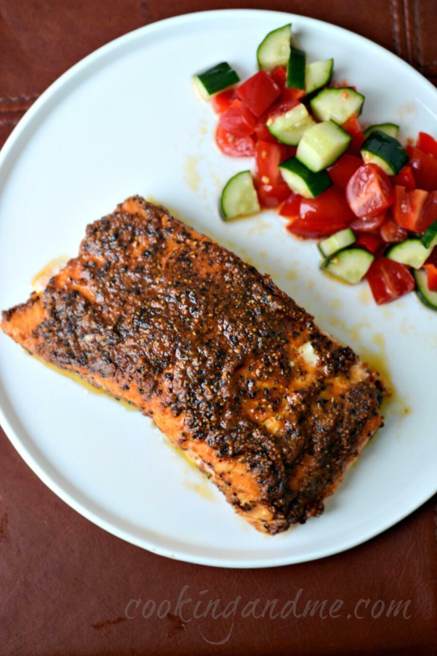 Simple Salmon Cake Recipe