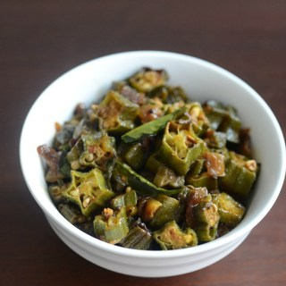 okra masala recipe, how to make bhindi masala