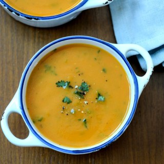 Carrot potato soup, healthy Indian soup recipes
