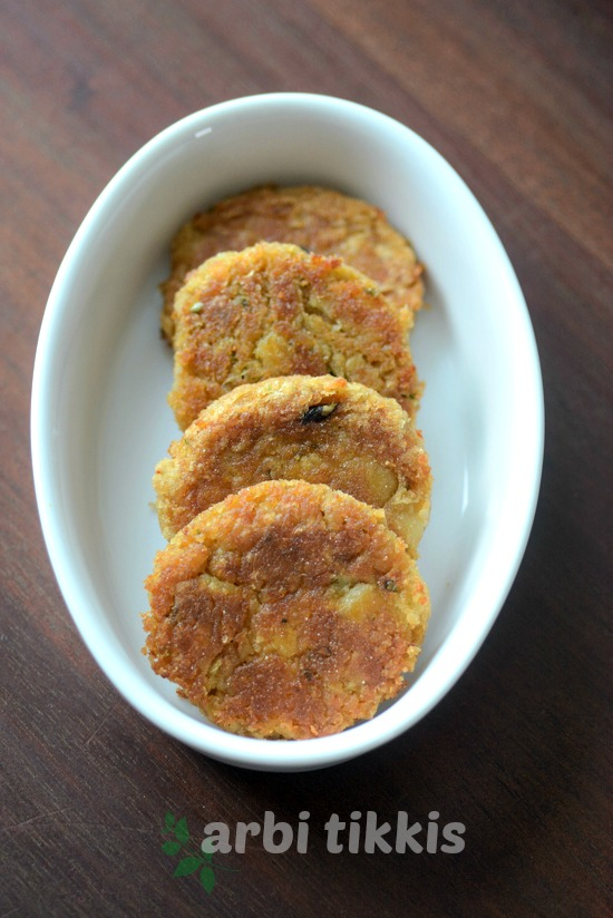 arbi tikki recipe how to make arbi tikki
