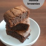 3 ingredient flourless nutella brownies recipe ed