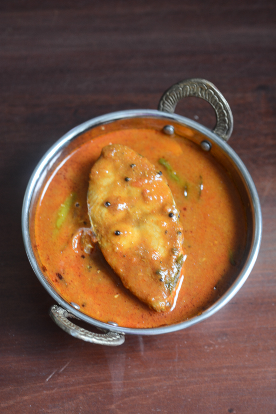Andhra Fish Curry Recipe