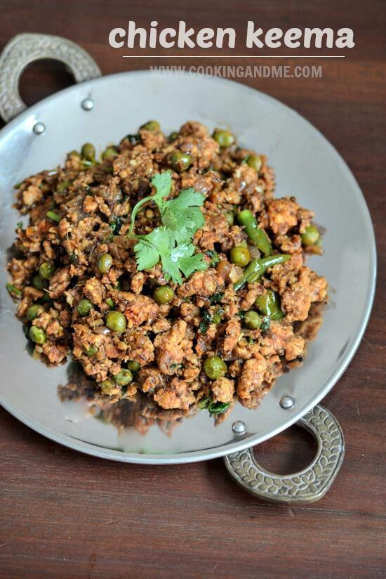 Chicken Keema Recipe How To Make Chicken Keema Step By