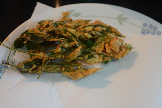 curry leaves pakoda recipe