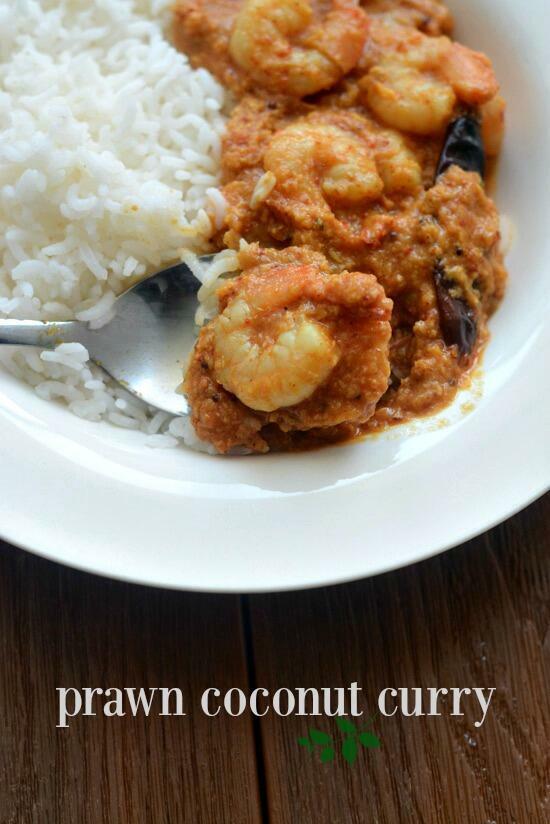 prawn coconut curry recipe