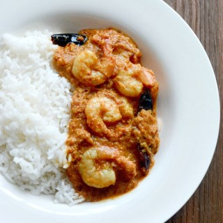 prawn coconut curry recipe