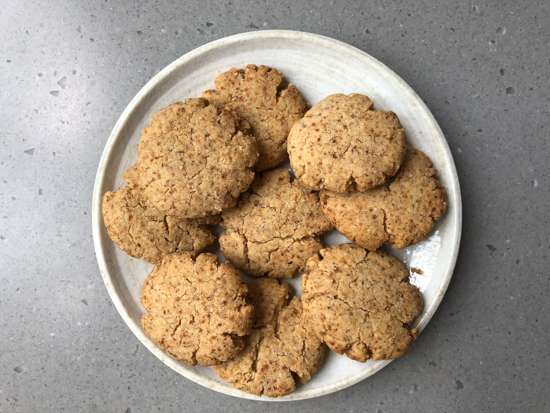 whole wheat flax seed cookies recipe