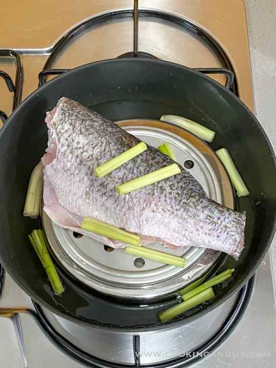 steaming fish for thai steamed fish recipe