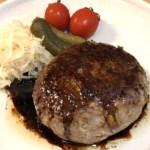 基本のハンバーグと肉汁バルサミコソースのレシピ