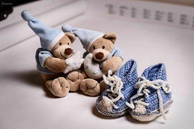 Handmade Babychucks von Tante Sissi
