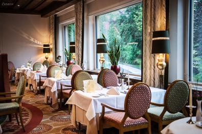 Speisesaal im Hotel Ronacher