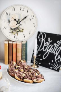 Rehbeefsandwiches & Vintage Uhr von Otto