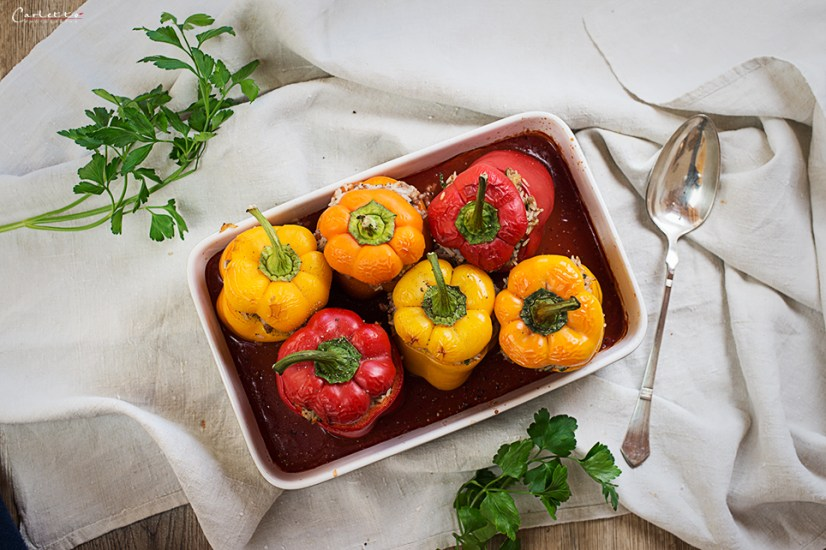 meat stuffed pepper