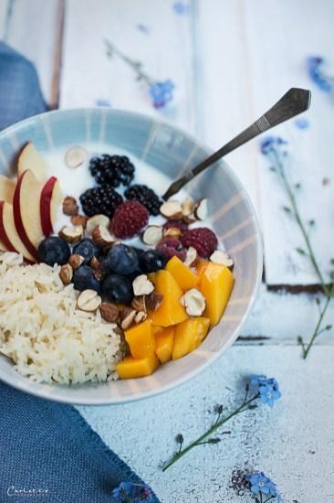joghurt reis bowl