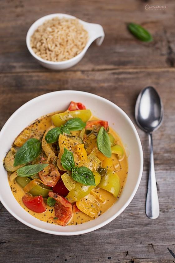 thai curry mit gemüse