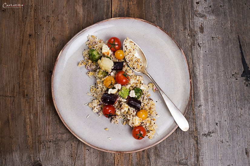 Rice & Grains Veggie Gratin