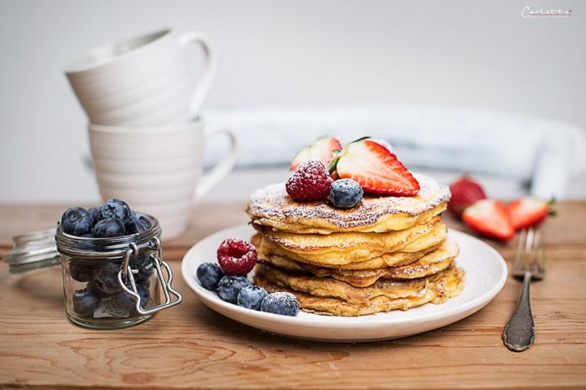 pancakes frischkäse