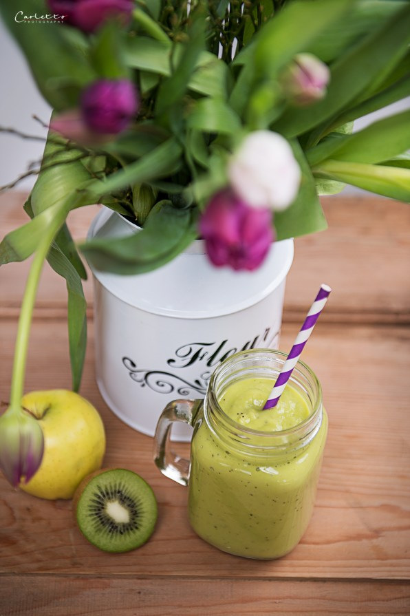 grüner power smoothie