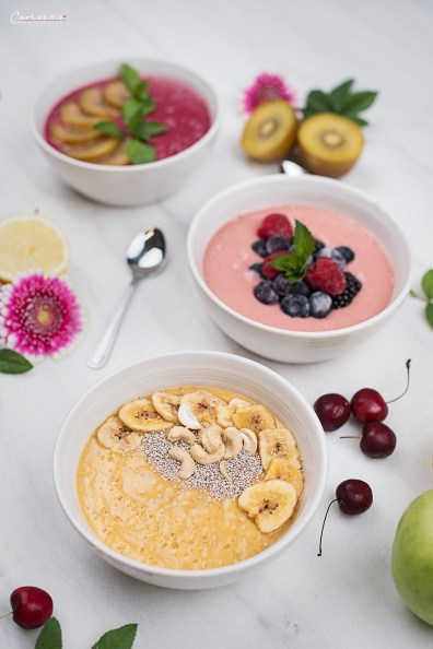 sommer smoothie bowl