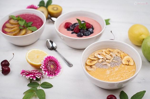 sommer smoothie bowl