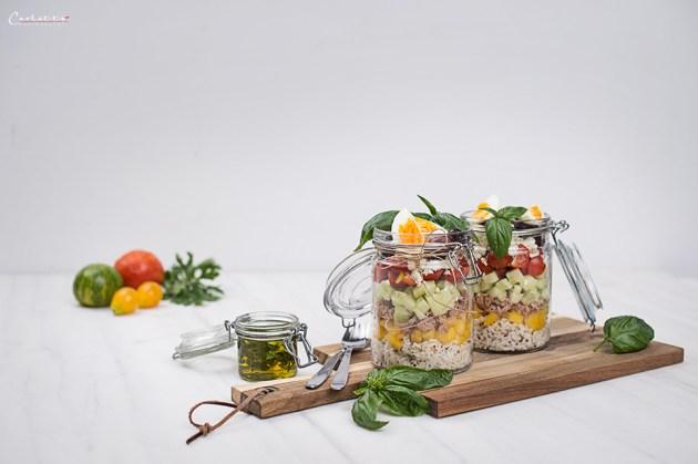 thunfisch salat im glas
