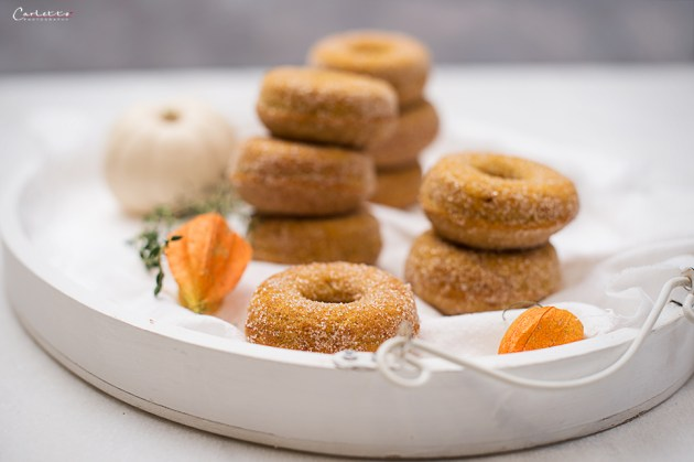 Kürbis Donuts