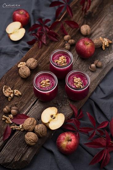 Rote Rüben Apfel Smoothie