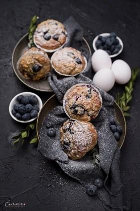 gesunde Beeren Muffins