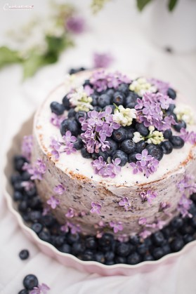 Cassis Torte