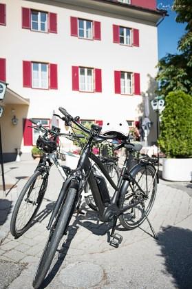 Drauradweg – kulinarisches Radwandern. Goldener Fisch.