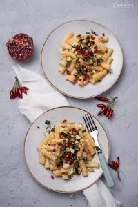 One Pot Pasta mit Zucchini