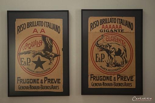 Italienische Reismarke