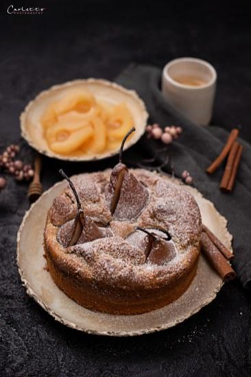 Birnenkuchen zuckerfrei