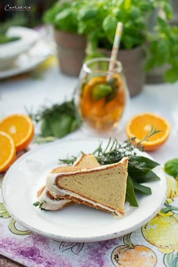 Sommer Orangentee Gugelhupf