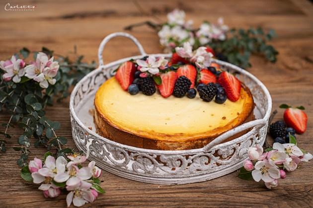 Cheesecake mit Beeren
