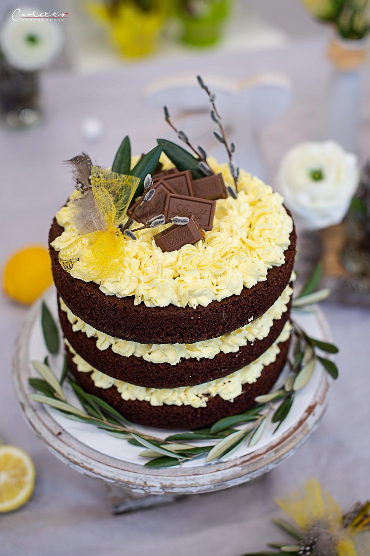Schokoladen Ostertorte