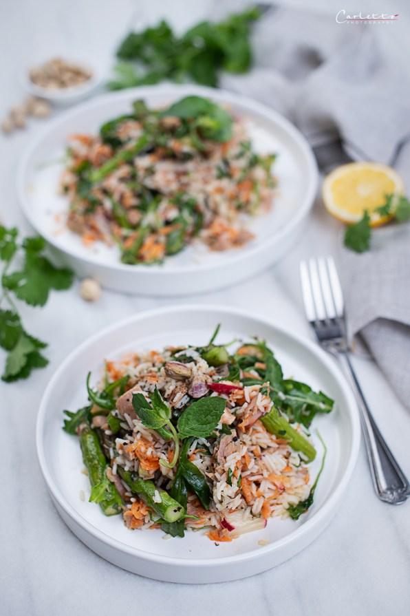 Frühlings Thunfisch Reissalat