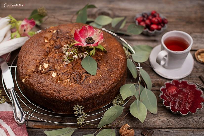 Zwetschgeröster Tee Kuchen