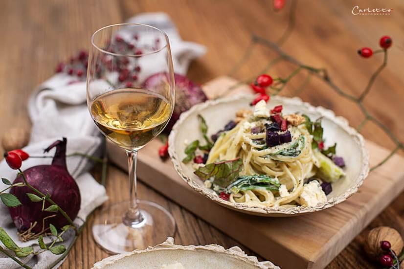 Herbst Pasta mit Blauschimmelkäse_4171