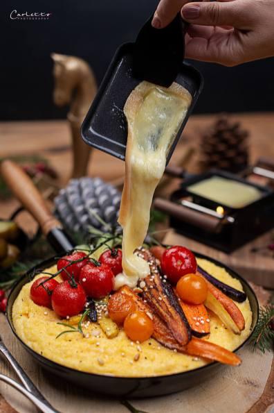 Raclette mit Polenta_0904