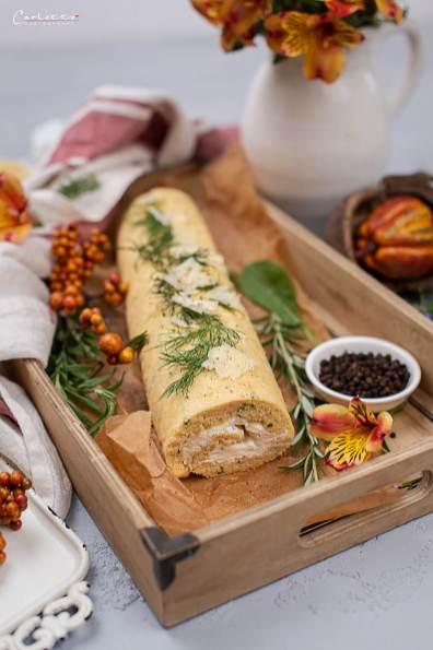 Roulade mit Käse
