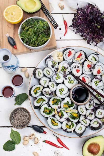 Gemüse Sushi_7288
