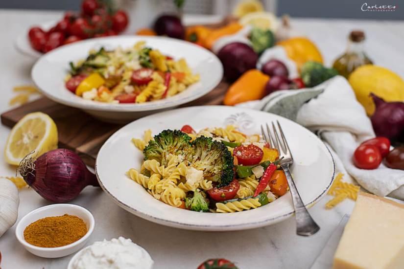 Nudel mit Curry Gemüse_0583
