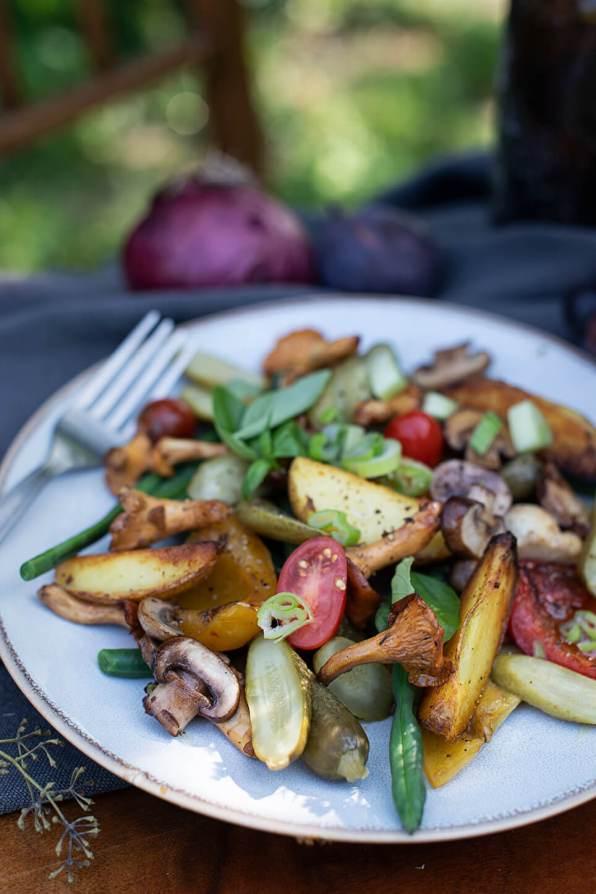 Essiggurken Gemüse Salat_0853