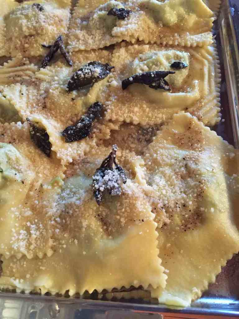 tortelli maremmani during cooking classes in tuscany