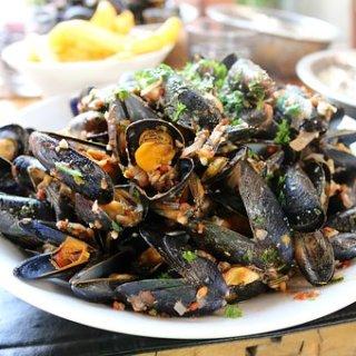 mussels fresh pasta