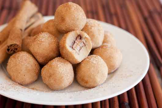 Image result for Snickerdoodle cookie Dough Ball