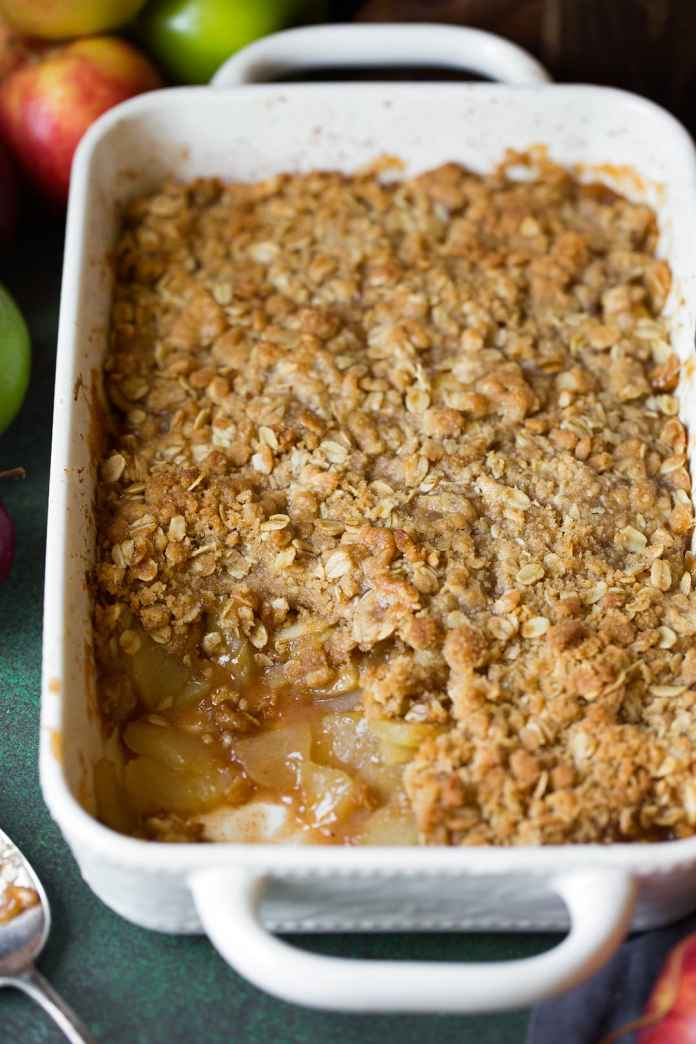 Easy Apple Crisp Recipe Very Best With Video Cooking Classy