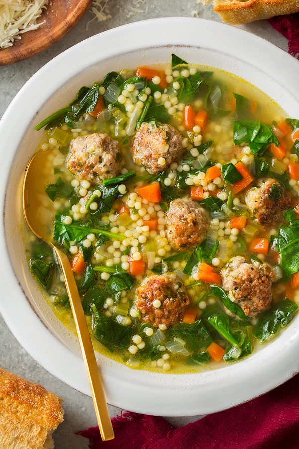 Italian Wedding Soup | Cooking Classy